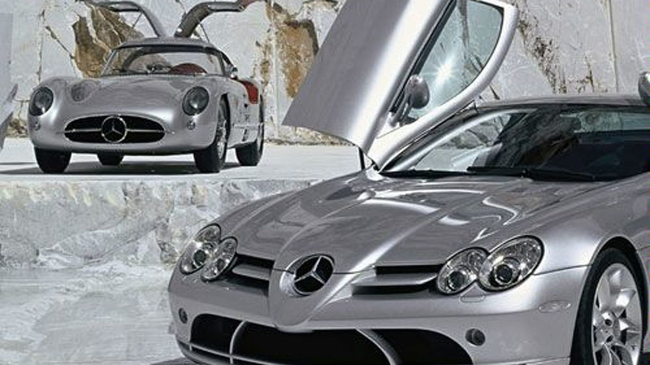 300 SLR Coupe & SLR Vision concept
