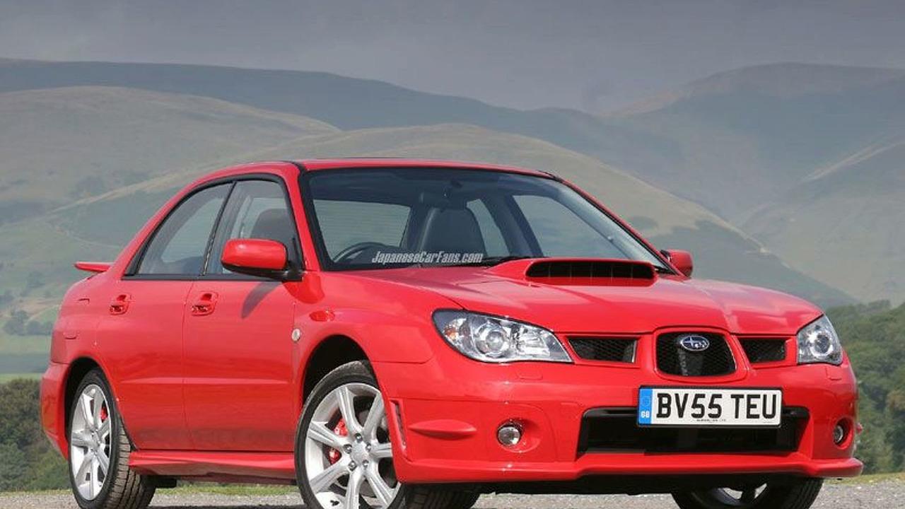 2006 Subaru Impreza (UK)