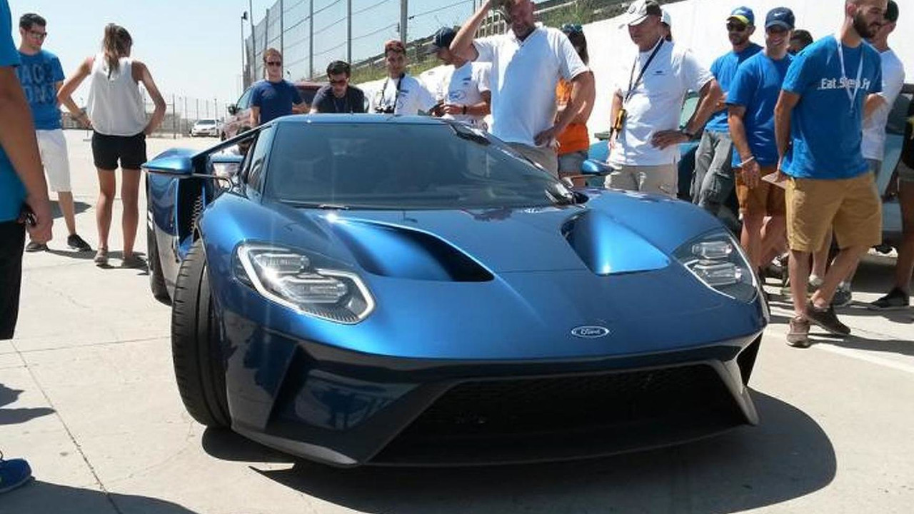 2017 Ford GT prototype