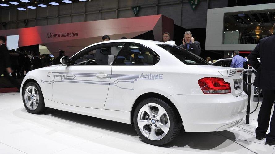 2012 BMW ActiveE plugs into Geneva