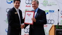 Audi A3 TDI, Eureka! Diesel Drives the Future, Manuel J. Carrillo, District Representative at California State Senate and Hunt Ramsbottom