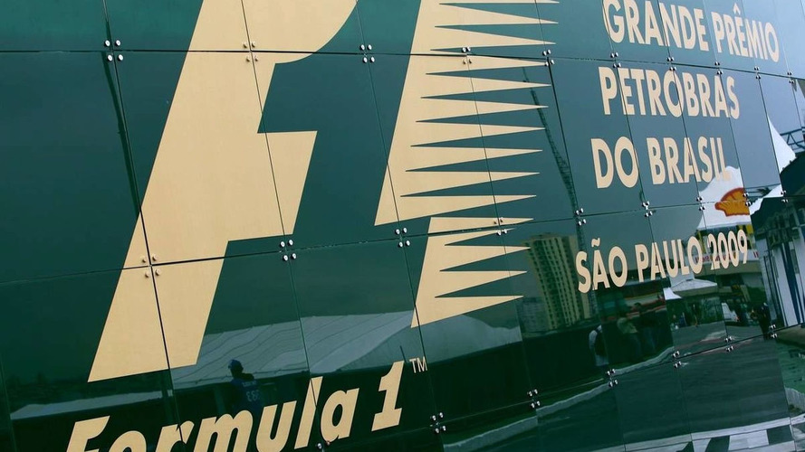 Recycled plastic trophies for Brazil GP