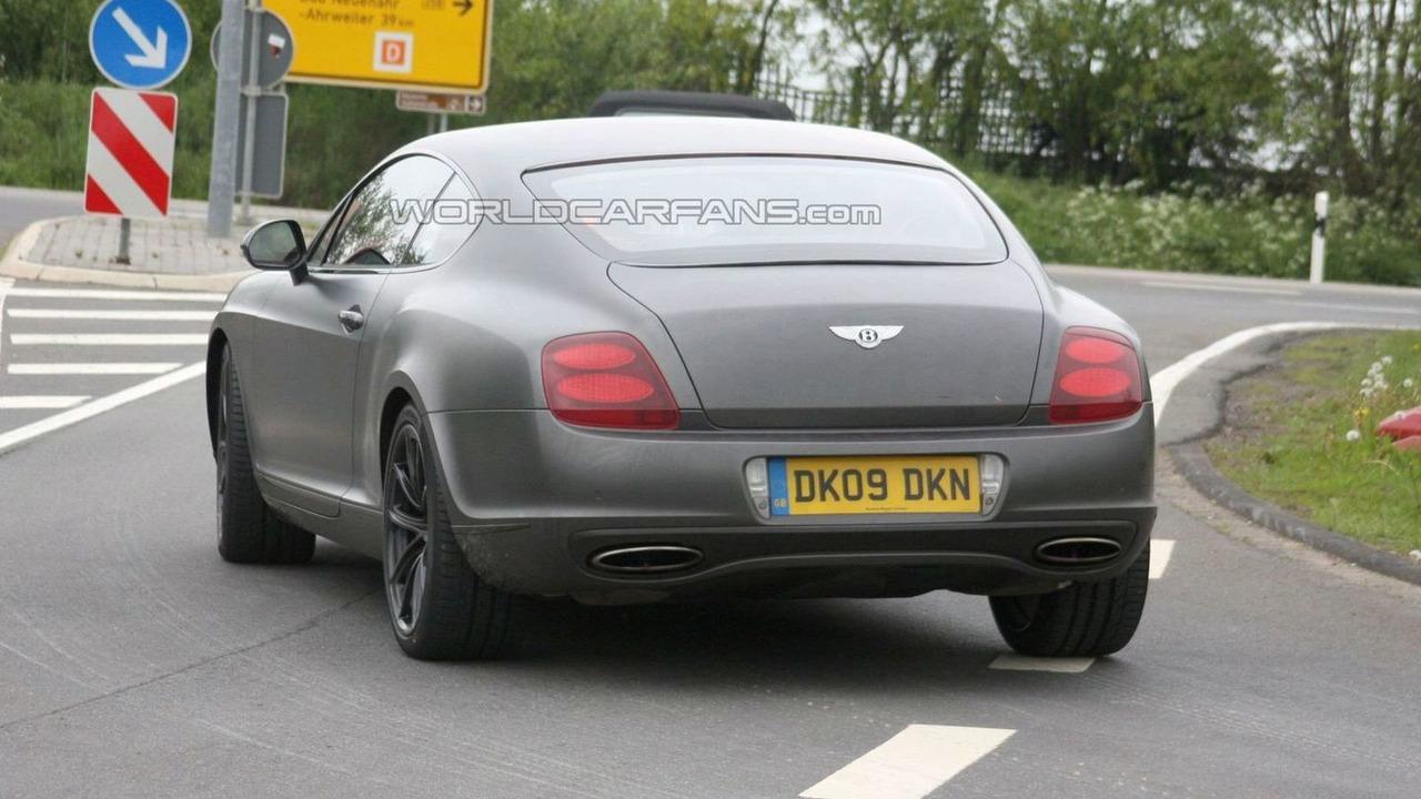 Bentley Supersports Biofuel spy photo