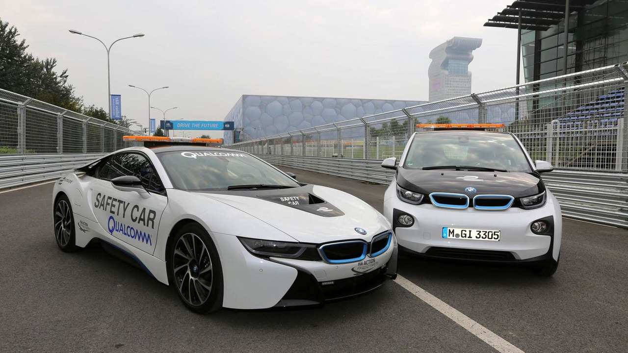 BMW i3 & i8 safety cars for Formula E