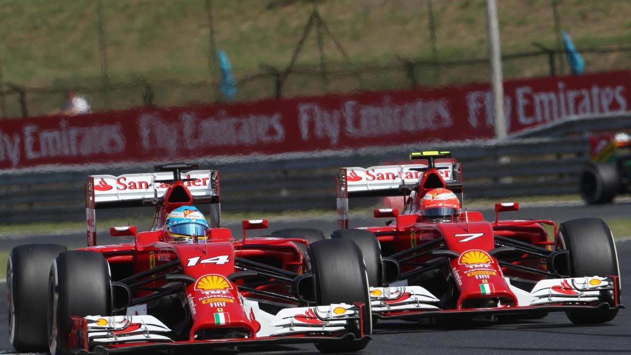 Fernando Alonso (ESP) and Kimi Raikkonen (FIN) / XPB