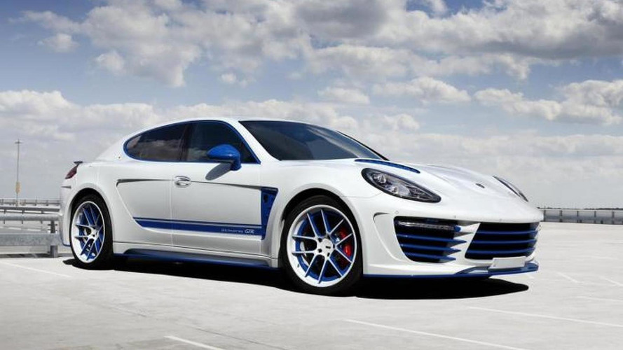 Porsche Panamera receives flashy body kit from TopCar