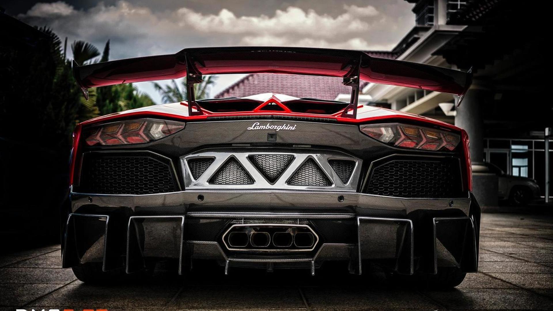 Lamborghini Aventador LP988 Edizione GT fully revealed by DMC