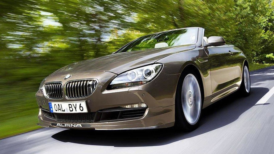 Alpina previews its B6 Bi-Turbo Cabrio based on the BMW 6-Series