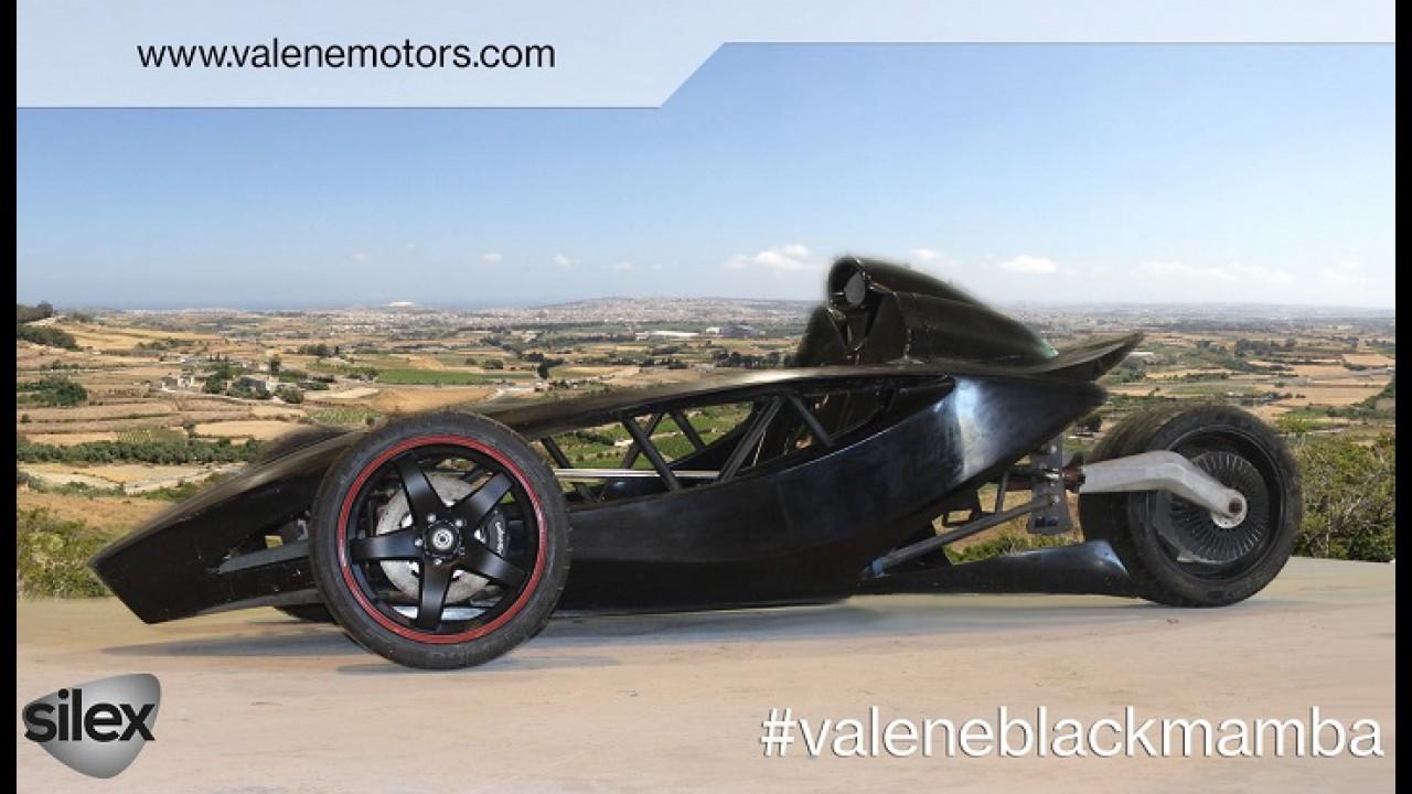 The Black Mamba is an 810-HP Electric Trike