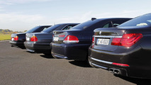 BMW 7-Series with V12 engines 26.10.2012