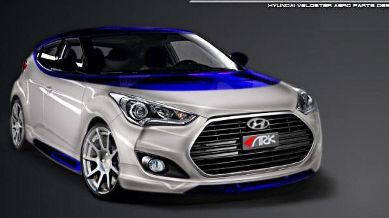 Hyundai Veloster Alpine Concept by ARK Performance