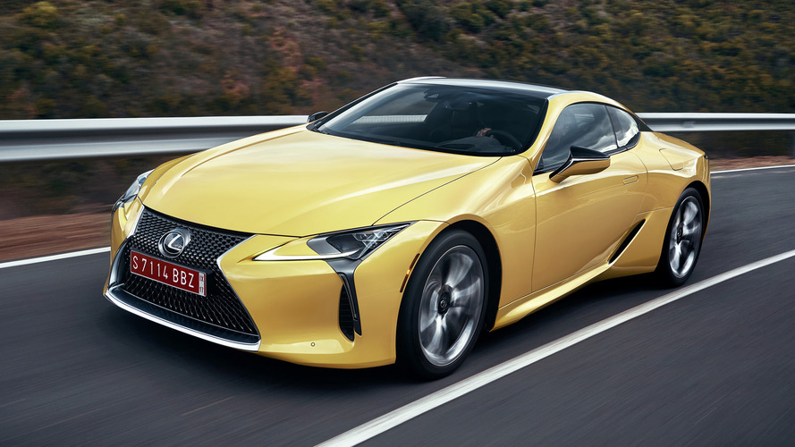 2018 Lexus LC 500 First Drive: Banish boring