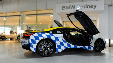 BMW i8 police car would be suitable for Demolition Man sequel