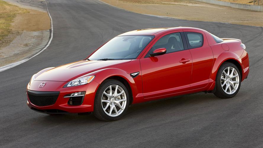 Mazda recalls 70K RX-8 models for leaking fuel