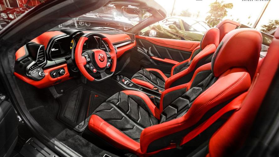 Carlex Design gives Ferrari 458 Spider cabin makeover