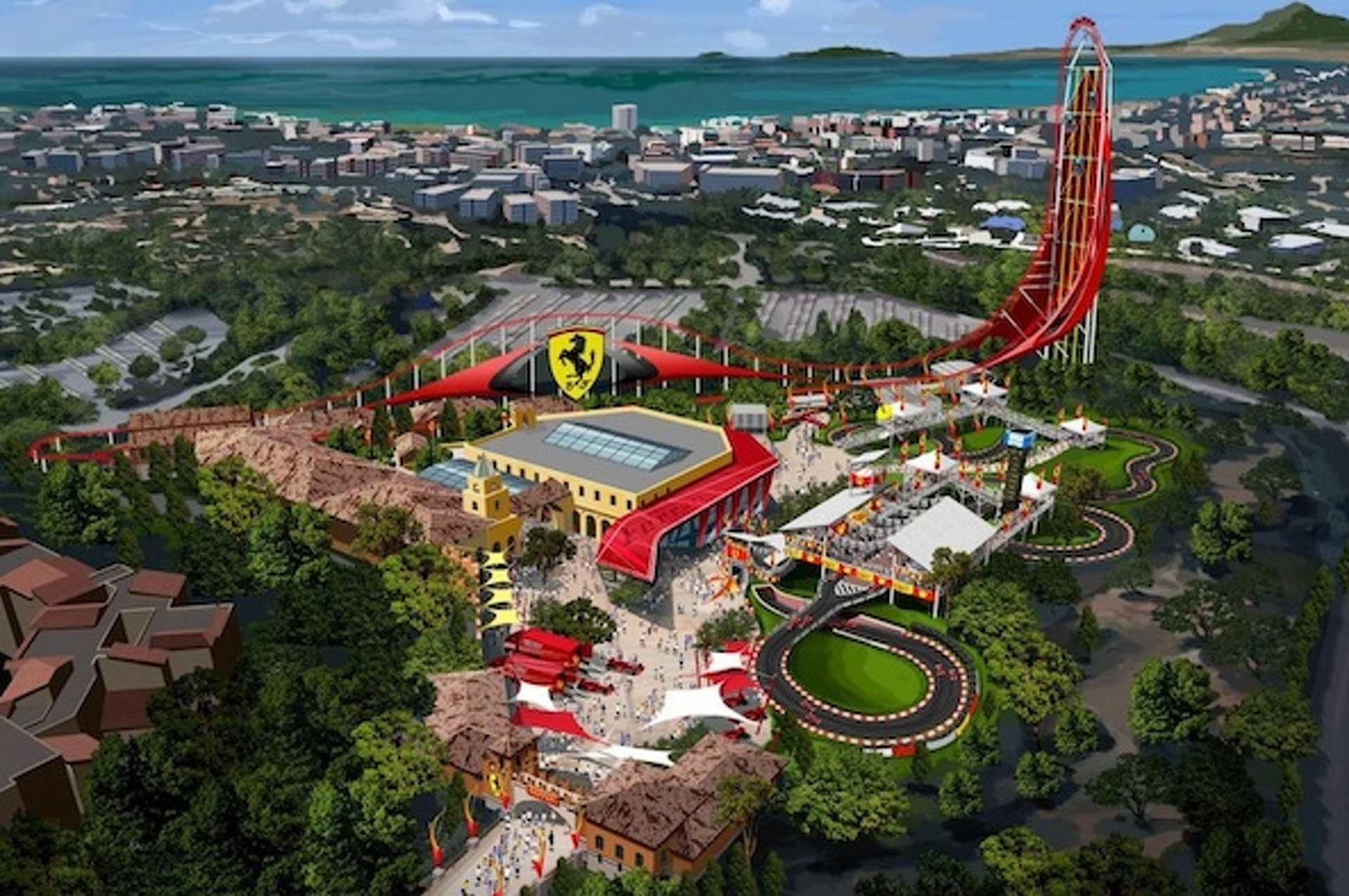 Ferrari Land Coming to Spain in 2016