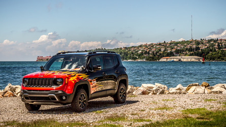 Jeep & Harley-Davidson unveil the Renegade Hell's Revenge