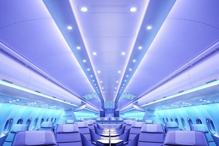 New Airbus Cabins Could Make Flying Fun Again