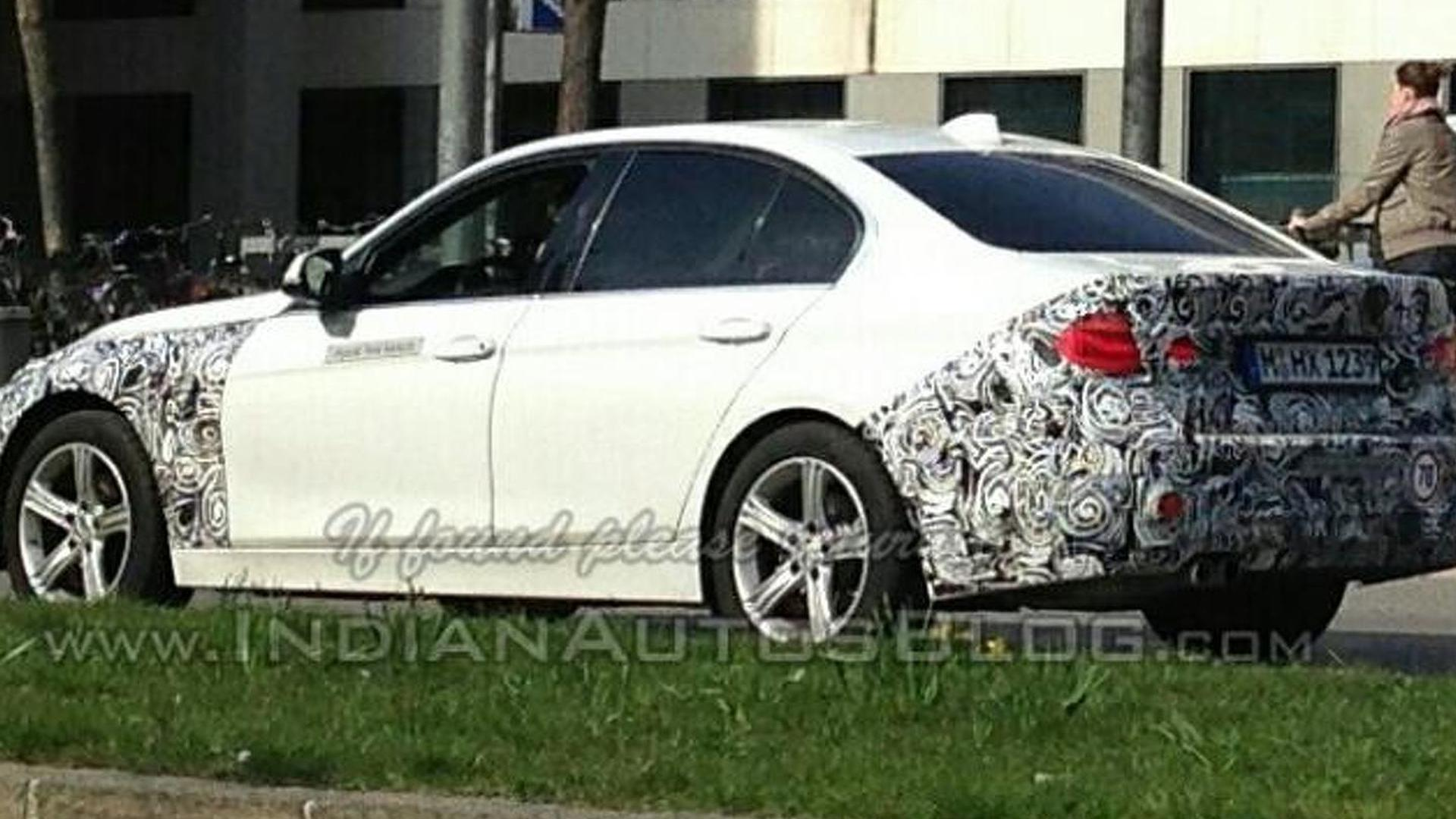 BMW 3-Series facelift spotted prior to debut next week
