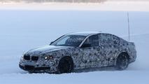 BMW M5 spy photo