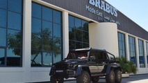 Brabus B63S 700 6x6 shows its metal in Dubai
