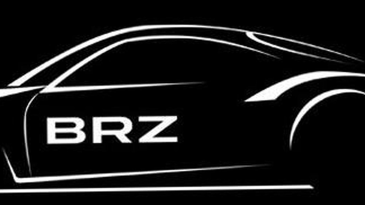 Subaru BRZ teaser for SUPER GT 2012 GT300 Class Series - 14.11.2011