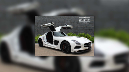 Low-mileage Mercedes SLS AMG Black Series yours for $480k