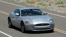 Jaguar XK spy photo