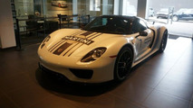 2015 Porsche 918 Spyder Weissach Package