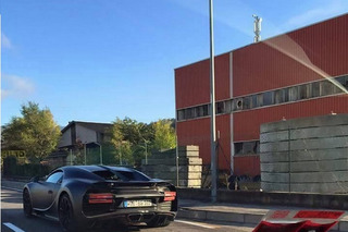 Bugatti Chiron Caught Without Camouflage Again in the Wild