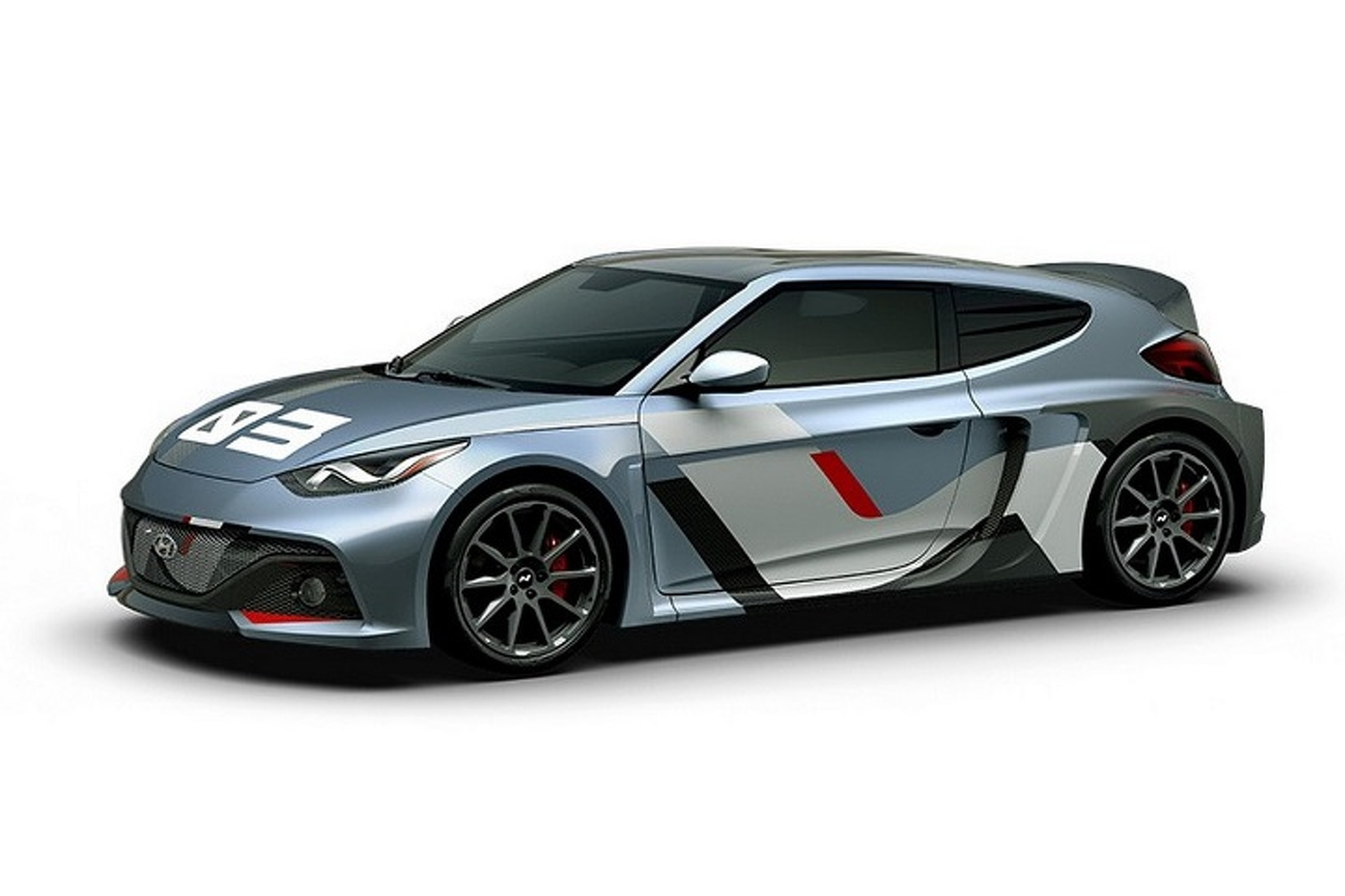 Hyundai Built One Seriously Hot Hatchback Concept