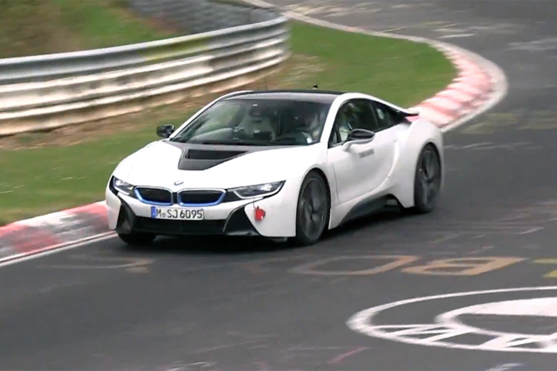 BMW i8 Still Working Out The Kinks At The Nürburgring [video]