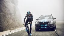 Jaguar unveils F-Pace prototype as Team Sky support vehicle for Tour de France [video]