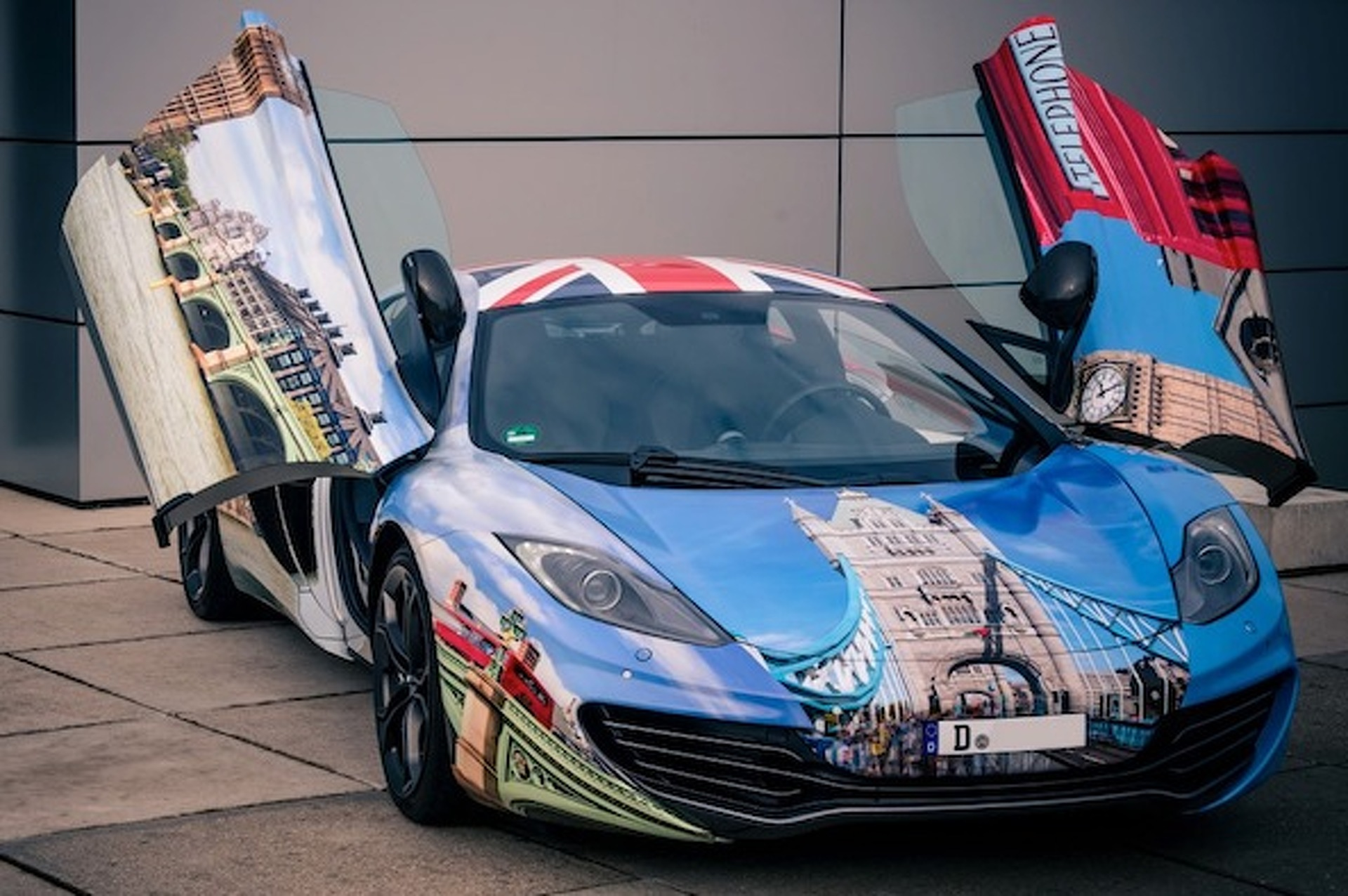 Kate Middleton, Your Gaudy McLaren Chariot Awaits