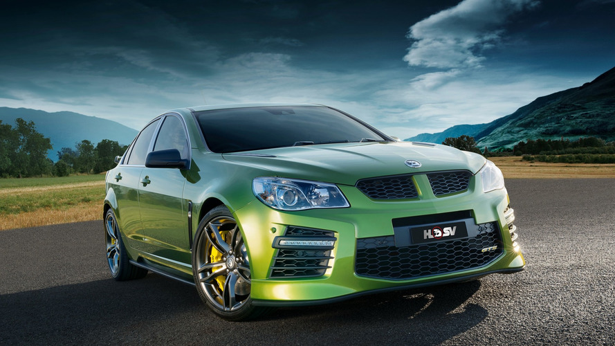 Holden Commodore to go out with Corvette ZR1 supercharged bang