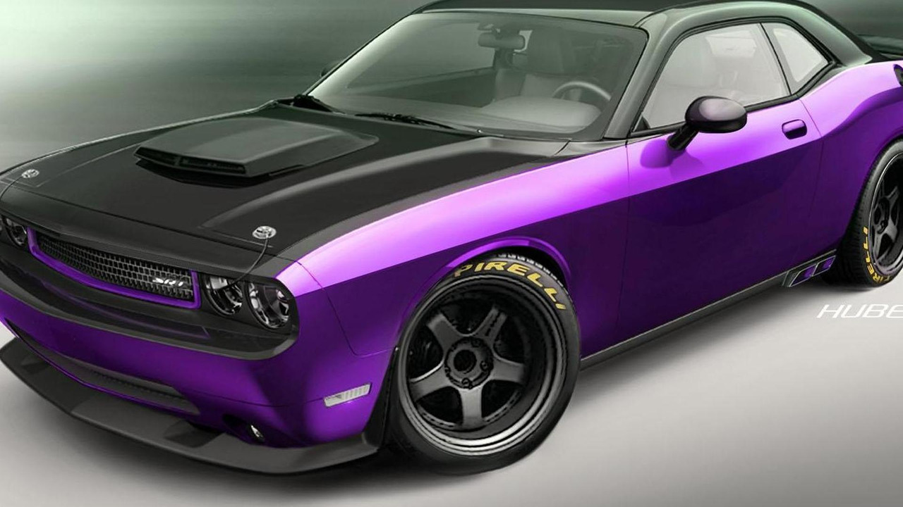 Dodge Challenger SRT8 Project UltraViolet 31.10.2012