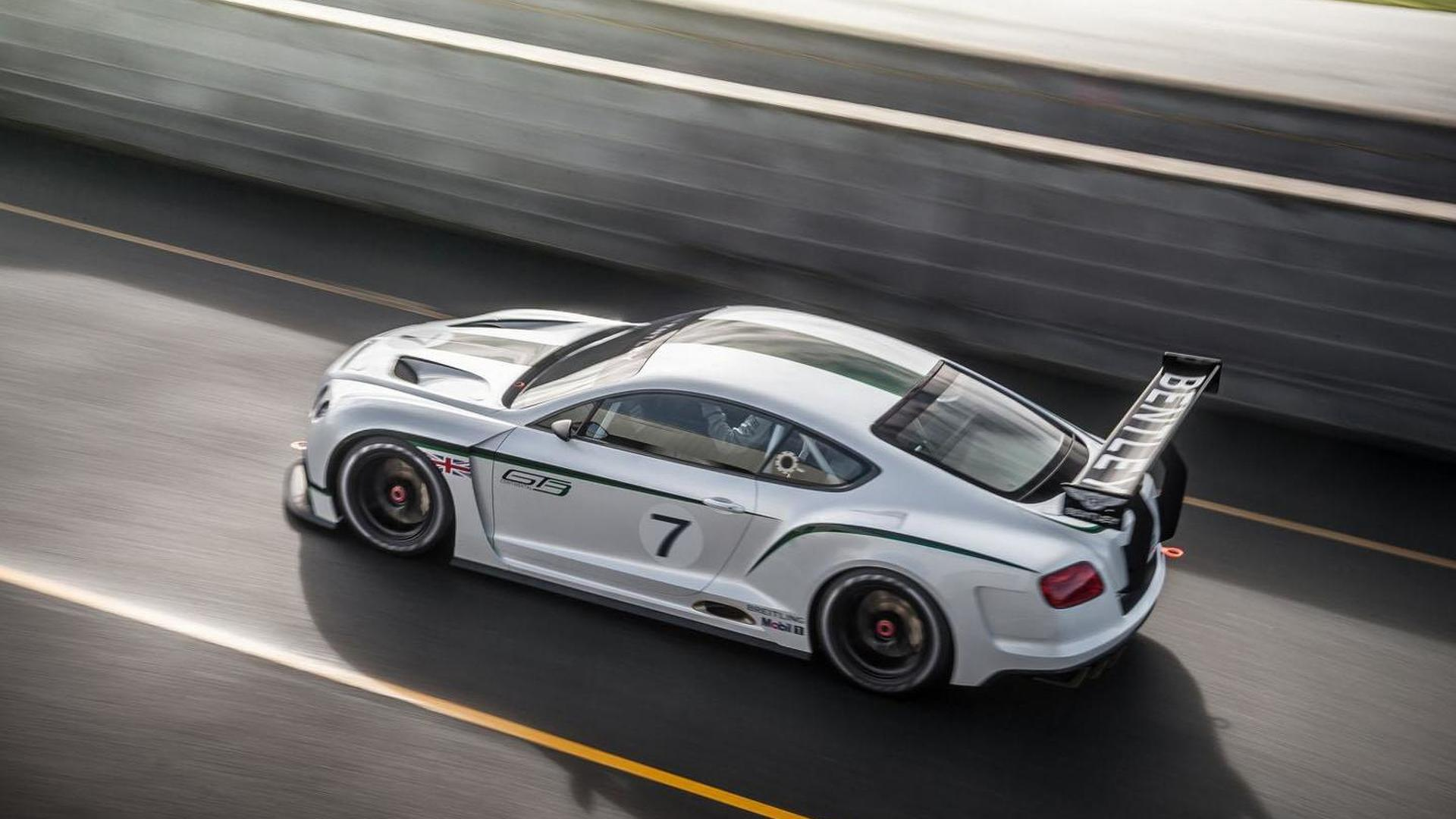 Bentley Continental GT3 concept officially unveiled [video]