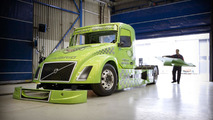 Volvo Mean Green Hybrid racing truck 23.3.2012