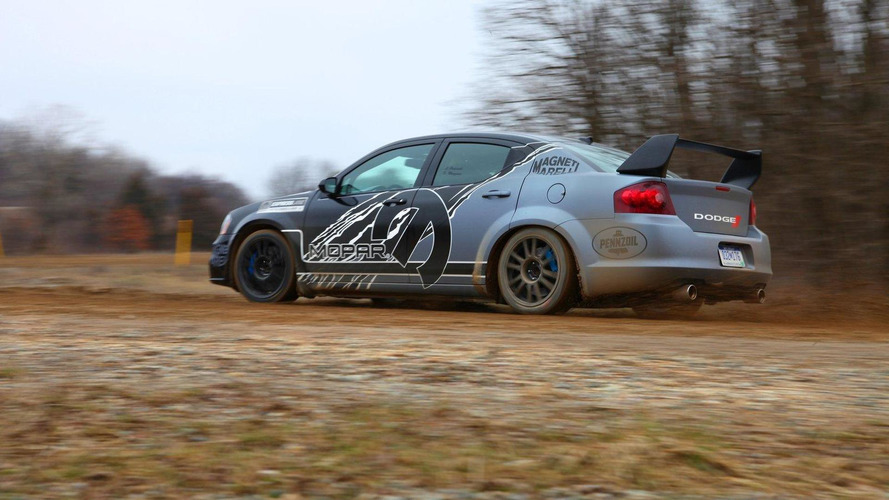 Dodge Avenger rally car unveiled [video]