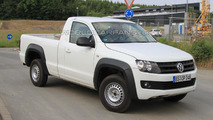2011 VW Amarok single-cab spy photos 29.06.2010