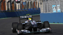 Rosberg fastest in morning, no gearbox penalty for Vettel