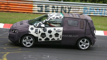 Chevrolet Aveo spy photo at Nurburgring