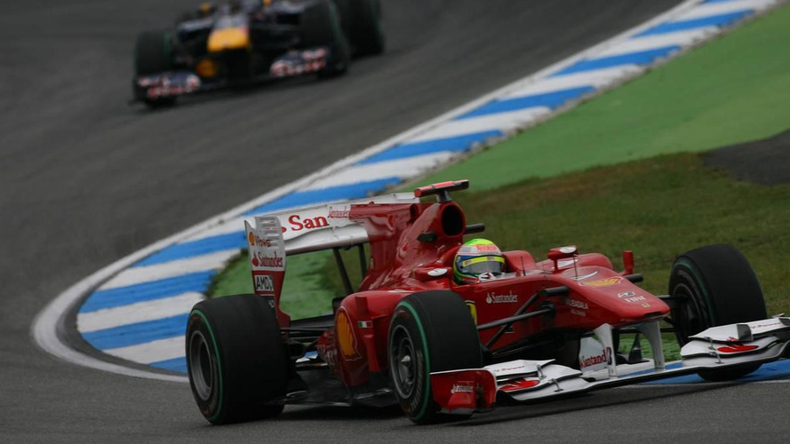 Ferrari, Red Bull, look stronger than McLaren in Germany