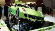 Ferrari HY-KERS Experimental Vehicle Debuts in Geneva