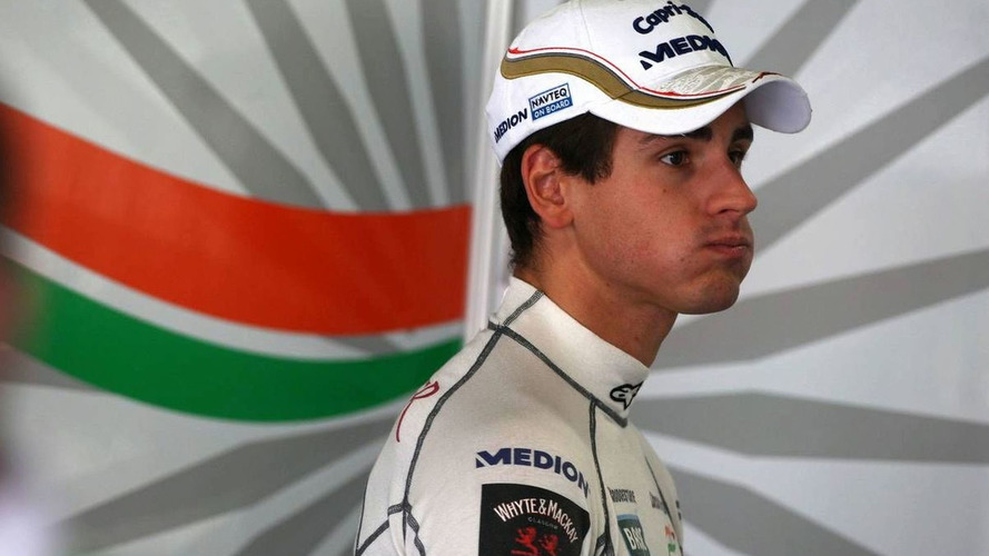 Force India takes up option on Sutil