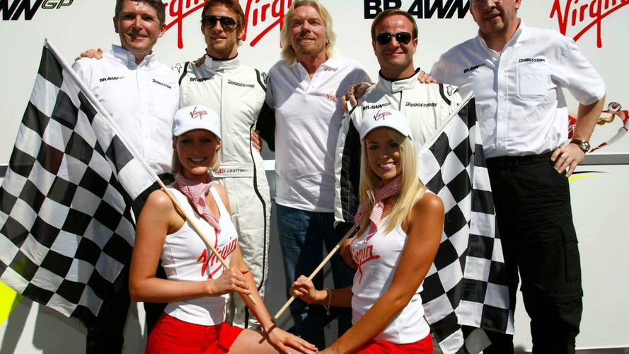 Virgin coverage worth $60m with Brawn