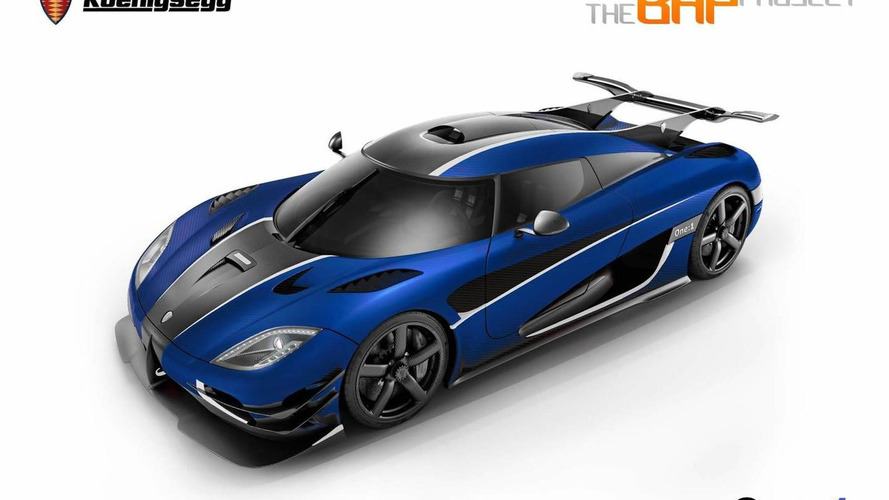 The only Koenigsegg One:1 in RHD configuration previewed