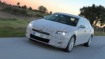 Skoda teases all-new Superb with camouflaged prototypes, first details released