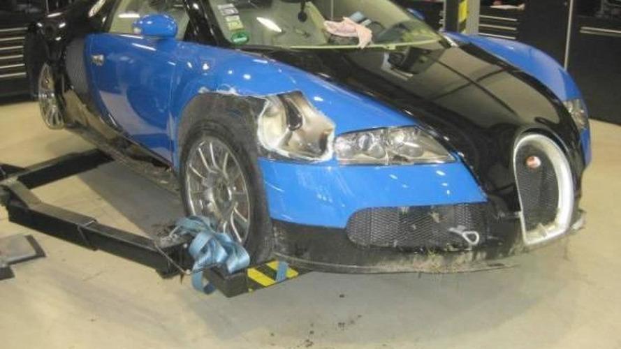 Crash damaged Bugatti Veyron on sale for just $250K