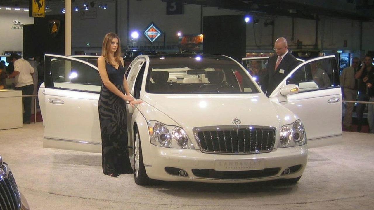Maybach Landaulet at Dubai Motor Show